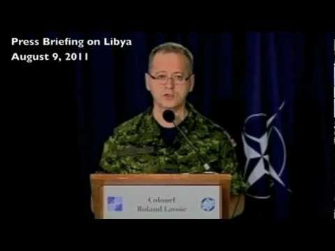 NATO claims Vs Facts in Libya.