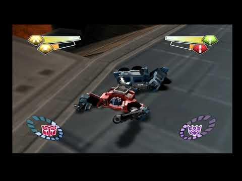 Transformers (PS2): Megatron Boss Fight