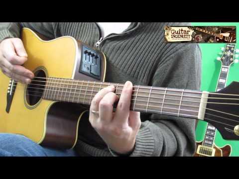 F Chord Guitar Easy Tutorial - Easy F Guitar Chord Lesson