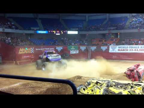 Monster Jam Freestyle-Bad News Travels Fast Charleston, WV 2013