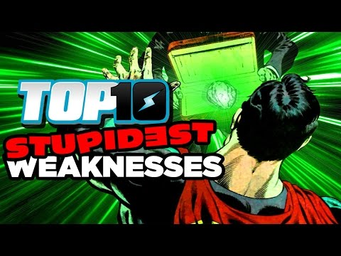 Top 10 STUPIDEST Weaknesses