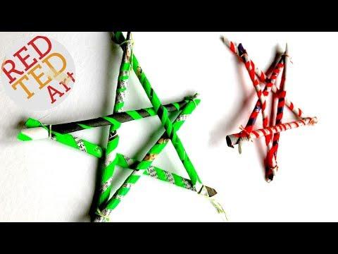 Звезды газет - 5 бумажных соломинок