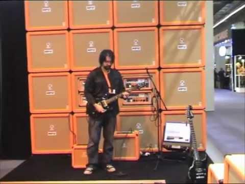 Orange Tiny Terror Combo at Frankfurt Musikmesse 2008 With Rob Chapman