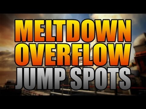 BO2 Jumps and Spots - Meltdown and Overflow (Black Ops 2)