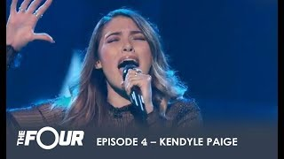 Download Song Kendyle Paige: NY Girl SHOCKS The Judges and Comes For ZHAVIA! | S1E4 | The Four Free StafaMp3
