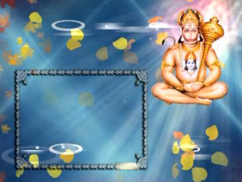 Jai Hanuman Gyan Gun SagarFREE professional looking Background...