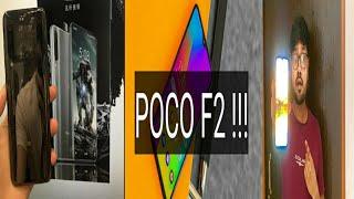 Poco F2 - 32MP Selfie, 48MP Triple Rear Camera, 100W Supercharge, SD 855, Wireless, ,12GB Ram,Price,