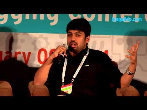 Ekalavya Bhattacharya, Karl Gomes and Vasundhara Das talk at #WIN14 by BlogAdda.com