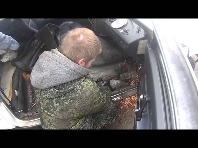 Как заварить днище автомобиля видео