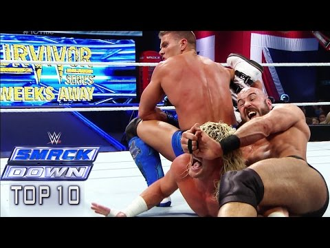 Top 10 Wwe Smackdown Moments: November 14, 2014 video