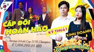Profile Khủng Cặp Vợ Chồng Sáng Lập Startup Việt Abivin Vô Địch Cuộc Thi Startup World Cup 2019