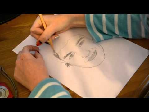 Super Speed Drawing: Liam Payne (One Direction)