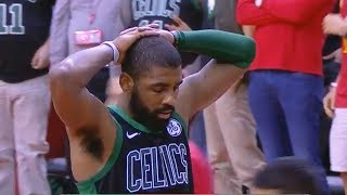 Kyrie Irving Fails to Miss Free Throws vs Rockets & Gets Upset with Himself! Rockets vs Celtics