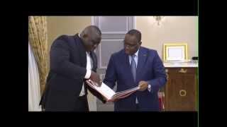 Macky Sall reçoit Yékini