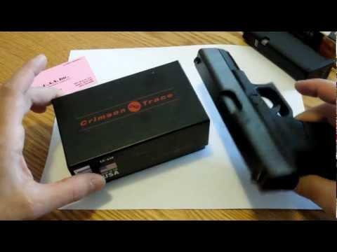 Crimson Trace Laser Grip Glock 19 Install (Model LG-619)