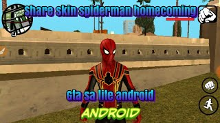 Share skin spiderman homecoming gta sa lite