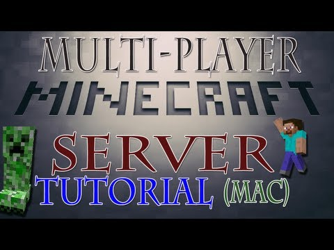 How To Make A Minecraft Server 1.7.5 (Mac) Interactive - HD