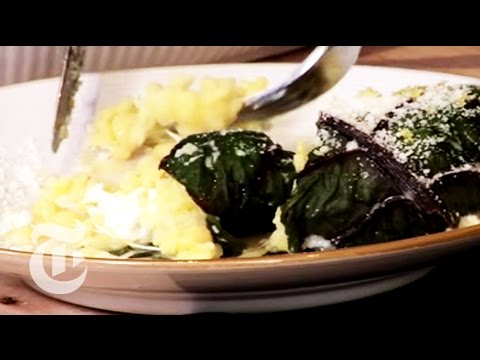Chard Stuffed With Risotto - Mark Bittman