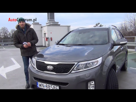 [PL] Kia Sorento 2.2 CRDI 197KM 2013 - test AutoCentrum.pl