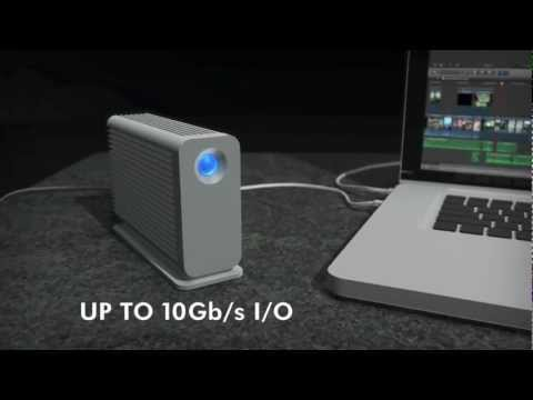 Introducing the LaCie Little Big Disk with Thunderbolt™ Technology
