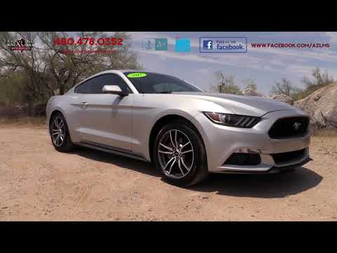 2017 Ford Mustang EcoBoost Coupe - Luxury Motorsports (15235)