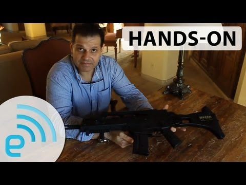Delta Six gaming gun controller prototype hands-on | Engadget