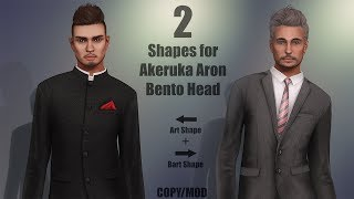 Akeruka Aron Bento Head + My Shapes in Second Life