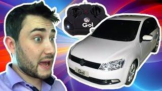 Carrinho de controle remoto - Volkswagen Gol G6 - Câmera no teto - Meu cachorro é um rato!