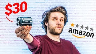 CHEAPEST VIDEO CAMERA Review on Amazon