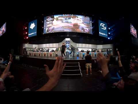 VR Highlights - G2 vs. SK [Cache] Map 1 - Semifinals - Pro League Finals Dallas