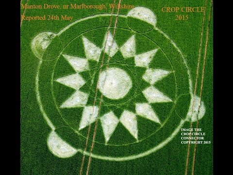 4phase Antigravity (triangle Electro-magnetic Rotation) Manton Drove Crop Circle