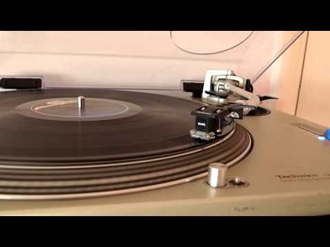 Jackson on wax - Technics SL-1200 Mk2