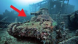 5 Eerie Underwater Items & Locations You Wouldn't Believe Exist...