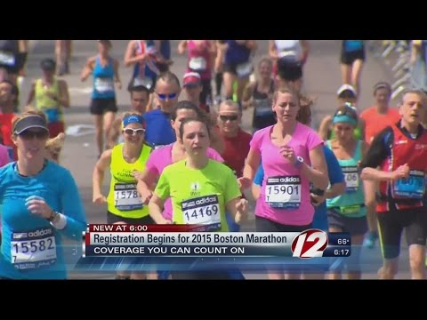 Registration Begins for 2015 Boston Marathon