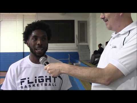 7/11/15 In Flight Entertainment: AJ Williams - Florida Flight Post-Game Interview