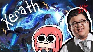 【LoL】XERATH ft. Scarra