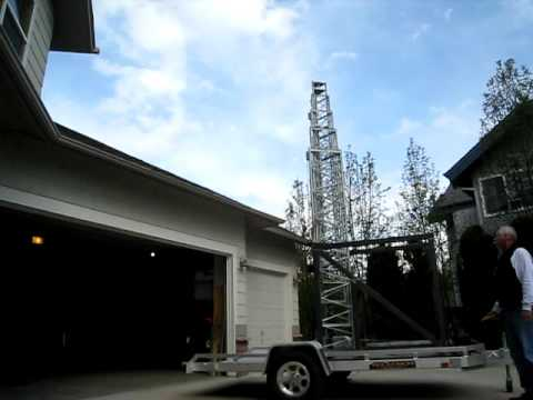 Mobile Amateur Radio Tower