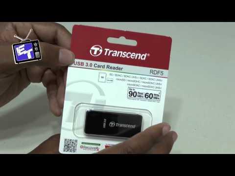 Transcend USB 3.0 High Speed Card Reader