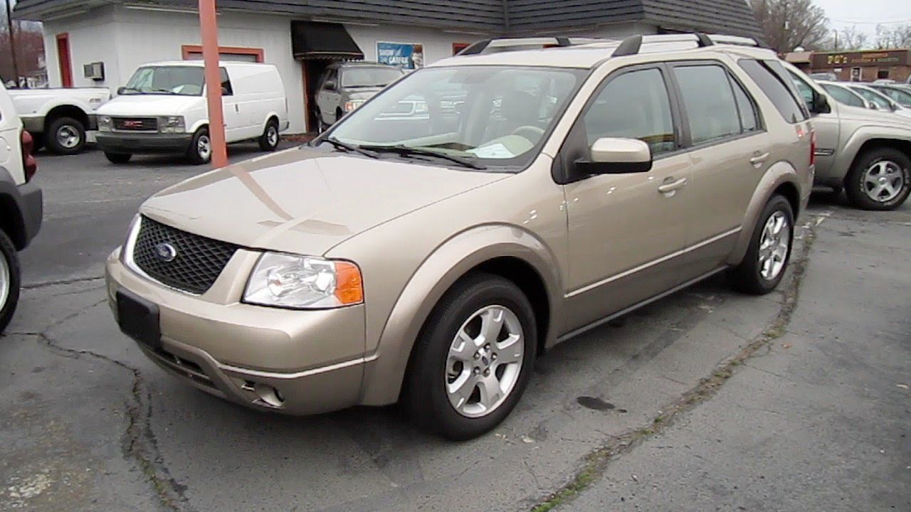 2006 Ford Freestyle Sel Awd Start Up  Engine  And In Depth