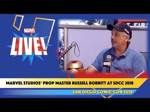 Marvel Studios' Prop Master Russell Bobbitt Live at SDCC 2018