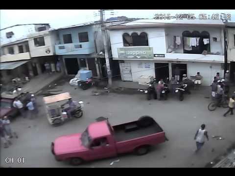 pelea en Puerto Bolivar