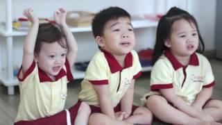 1 ngày của trẻ 0~3 tuổi tại Sakura Montessori