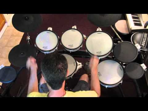 Queensryche - Della Brown - V-drums Cover - Drumdog69