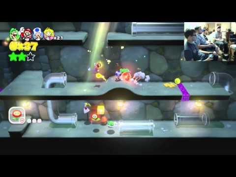 Press Start Plays Super Mario 3D World!