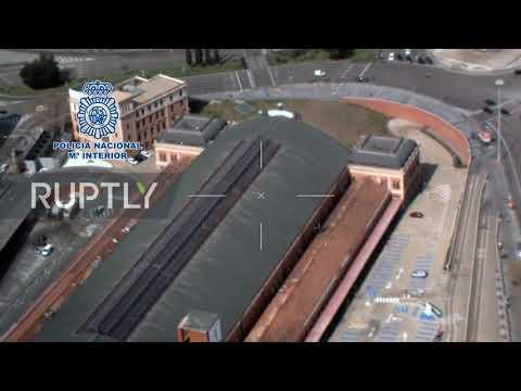 Spain: Drone footage shows Madrid turned into ghost town in coronavirus lockdown