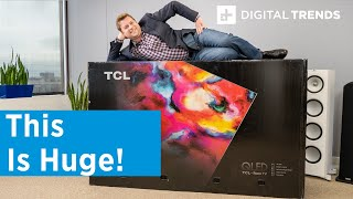 TCL 8-Series MiniLED Unboxing and Basic Setup | Taking On OLED