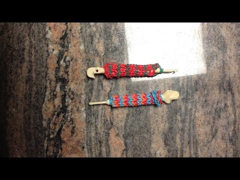 *NEW!* How to Make A Rainbow Loom Hook/Pencil Grip!