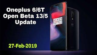 Oneplus 6/6T Open Beta 13/5 Update | 27-Feb-2019