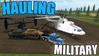 CAN YOU HAUL IT? | MILITARY EQUIPMENT | HELICOPTER | TANKS