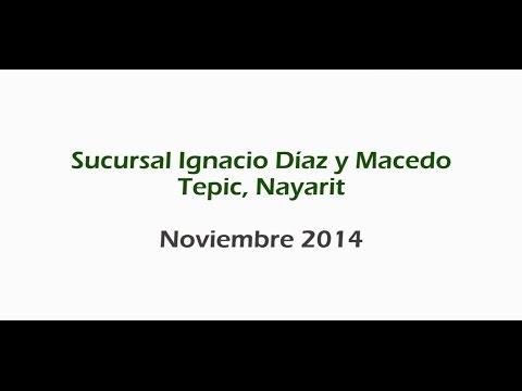 50 aniversario de la sucursal Ignacio Díaz y Macedo de Tepic, Nayarit.